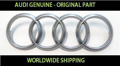 AUDI Engine cover logo GENUINE #4H0103940