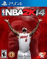 Nba 2k14 Ps4 Basketball Game W/ 6 Lebron James Cover Sealed