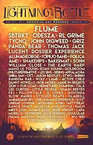 LOLLAPALOOZA MUSIC FESTIVAL 2015 Poster Concert Lineup Multiple Sizes