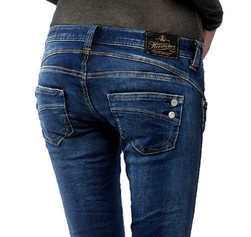 Herrlicher Piper slim stretch Denim clean 051 Jeans L30 + L32 W24-W31 Neu 119,95