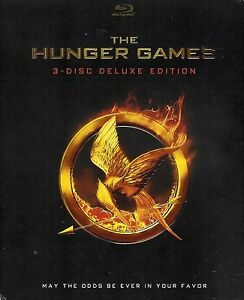 The-Hunger-Games-3-Disc-Deluxe-Edition-Blu-ray-with-Slipcover-FREE-Shipping