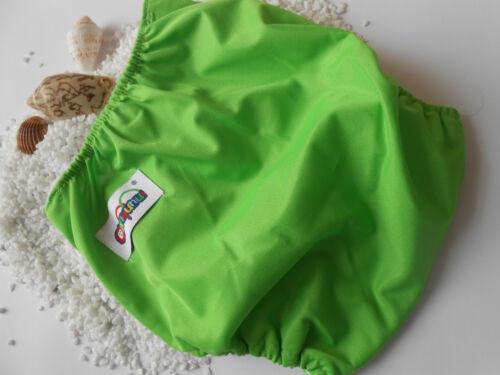 Säuglingswindel Schwimmwindel Baby Tuch-Windeln Softcover Waschbar grün NEU