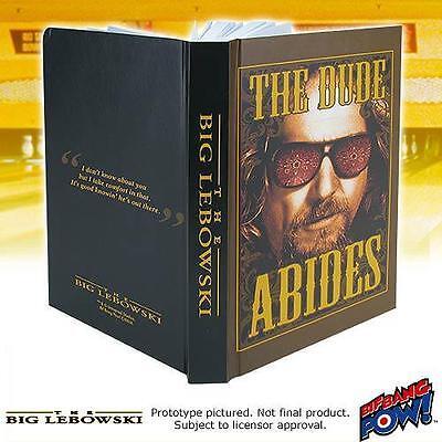 BIG LEBOWSKI Licensed LG 320 pg The DUDE ABIDES Hardcover JOURNAL Jeff Bridges