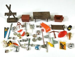Vintage-Playmobil-Knights-Medieval-Mixed-bundle-F664