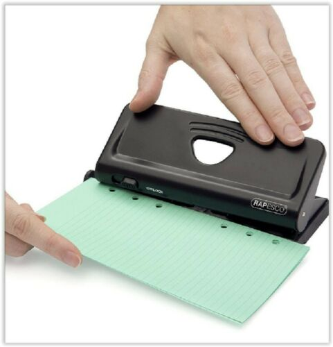 Adjustable 6 4 Hole A4 A5 A6 Paper Guide Punch Organiser Filofax Diary Puncher