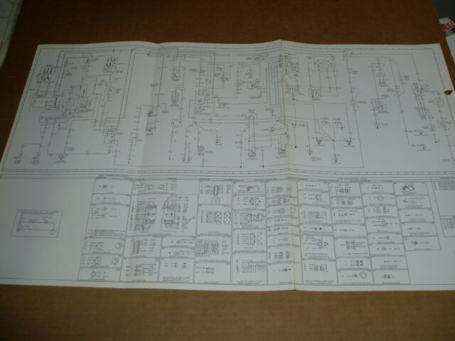 1971 Lincoln Mark Iii Wiring Diagram Sheet Service Manual