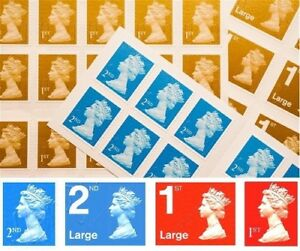 Image is loading Royal-Mail-1st-Class-2nd-class-Letter-Large-