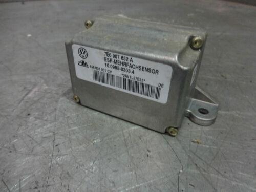 Audi TT 8N 1998-2006 Mk1 225 QUATTRO 1.8 T ESP Module Lacet Capteur Acc 7E0907652A