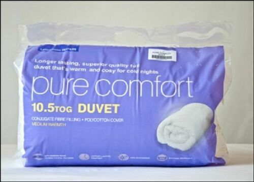 MADE IN UK Superior Quality All Season Duvet / Quilt 4.5, 10.5, 13.5 & 15 Tog