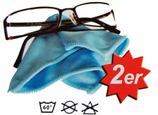 8 Stück Microfaser Brillenputztuch  Putztuch für Brillen Streifen Frei