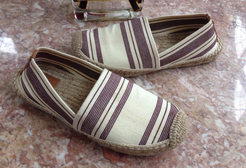 TORY BURCH ESPADRILLE SLIP-ON (WOMEN) SIZE 61/2 Schuhe EUC