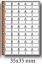 fogli-SINGOLI-per-raccoglitore-UNI-MasterPhil-rinforzati-collezione-monete miniatura 3