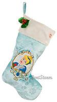 Disney Store Designer Princess Cinderella Musical Animated Christmas Stocking
