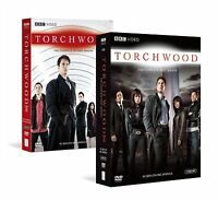 Torchwood Complete First & Second Season 1 & 2 Brand 14-disc Dvd Sets