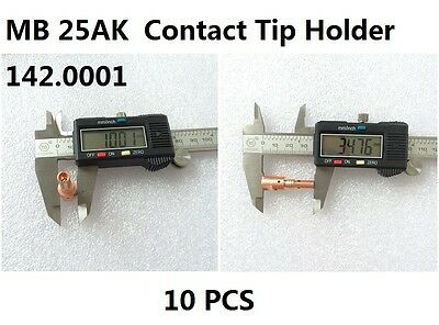 5PK Binzel BW MB25 25AK Nozzle 145.0076  MIG Gun Welding Torch Consumbales