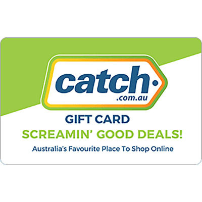 Catch.com Gift Card $20 $50 & $100 - Screamin' Good Deals, Fast Email Delivery