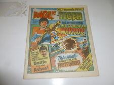 EAGLE & TIGER Comic - No 168 - Date 08/06/1985 - UK Paper Comic