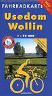 Usedom - Wollin 1 : 75 000 Fahrradkarte (2014, Mappe)