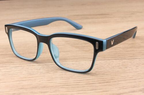Thick Rectangle Clear Lens Glasses Women/'s Mens Fashion Vintage