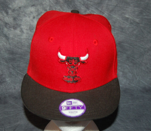 a9093b740146a9 NEW ERA Chicago BULLS Youth Hat - 9FIFTY Adjustable OSFM NEW! Trophy Hat  RARE!
