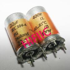 2PCS ROE IEC-384-4 22UF 400V filter capacitor