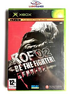 Kof-02-Be-The-Fighter-Xbox-Videogame-Neuf-Scelle-Retro-Scelle-Nouveau-Pal-Spa