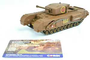 Corgi-Churchill-MkIII-6th-Scots-Guards-Brigade-1-50-Die-Cast-Tank-CC60112