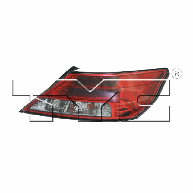 Right Side Replacement Tail Light Assembly For 2012-2014
