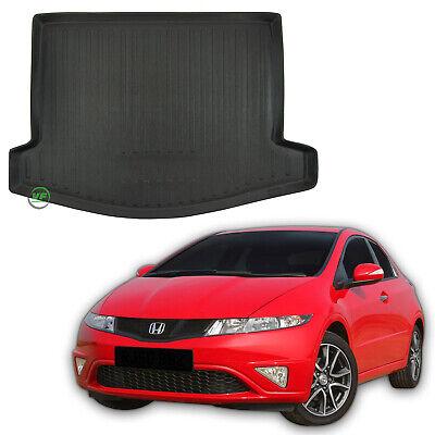 Set Gummimatten Fußmatten Kofferraumwanne für Honda Civic 9 IX 5-Türen ab 2011