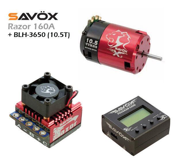 ESC  RAZOR 160A  + PROG. CARD + + + BLH-3650  10.5T  42e61c