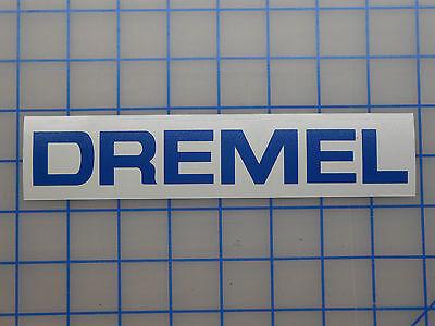 """Dremel Sticker Decal 7.5/"""" 11/"""" Tool 4200 4000 3000 Bits 3d Printer Multi Saw Max"""