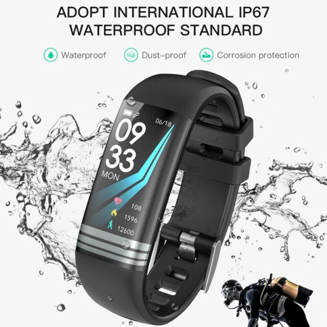 G26 Blood Pressure Heart Rate Pedometer Fitness Smart Watch Wrist Band Bracelet