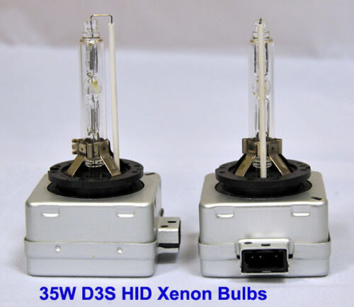 D3S 8000K 35W Factory Fitted Xenon HID OEM Replacement Bulbs Bulb Blue Light