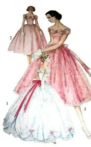 180 Ball Gown With Over Skirt Pattern For Fashion Dolls Ebay