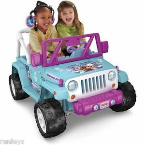 details about disney frozen 12v electric ride on toy jeep 4 wheeler 4x4 toddler kids girlsPower Wheels Jeep Wrangler Kids Battery Powered Toy Car 4x4 Red Ebay #18