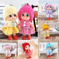 Brand Girls Lovely Interesting Doll Toy Mini Doll Mobile Phone Accessories