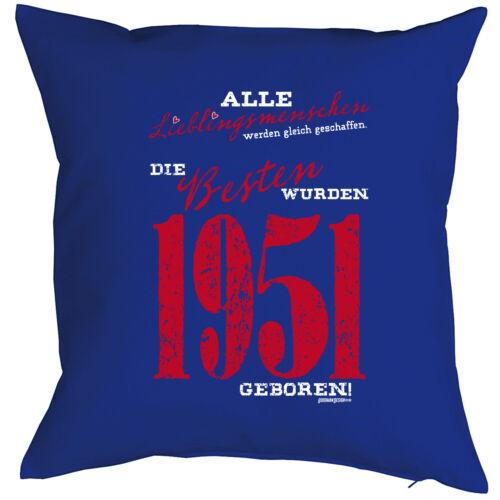 Cooles Geschenk zum 68.Geburtstag Geschenkidee Kissen Sofakissen 1951 Männer