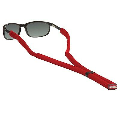 CHUMS GLASSFLOAT retainer sunglasses strap boating floating marine RED