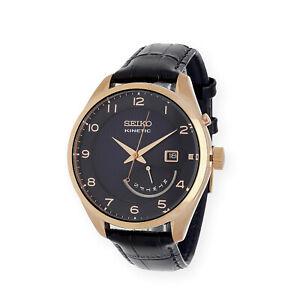 Seiko-Reloj-Kinetic-para-Hombre-de-Cuarzo-con-Correa-en-Cuero-SRN062P1