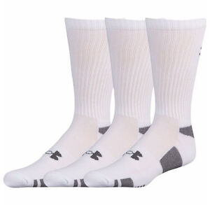 a0cbd8df6d under armour men's crew socks Under Armour Men's Crew Socks 3 Pack Medium 4  - 8.5