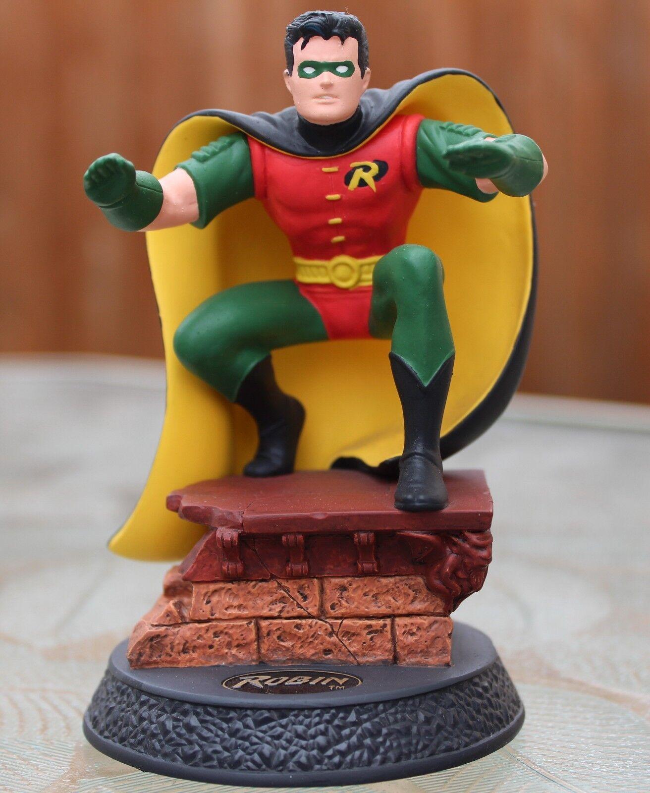 Hallmark Modern Era Robin Figurine 1996 DC Batman World's Bravest Teenager NIB