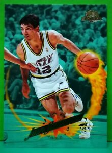 John Stockton regular card 1995-96 Skybox #119