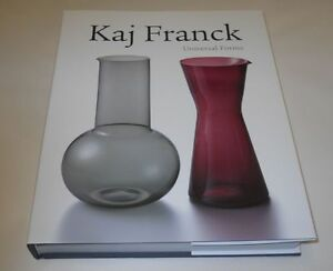 Kaj Franck Design Universal Forms Ceramicks Art Special Book Finland NEW