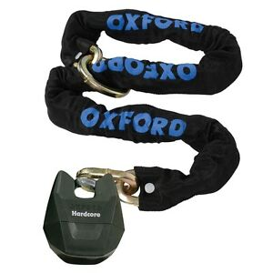 Oxford-Hardcore-Xl-Motorbike-Motorcycle-Motocross-Quad-Chain-Loop-Lock-1-5m