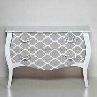 Casablanca Craft Stencil - Medium - Stencils For Furniture, Pillow, And Fabric