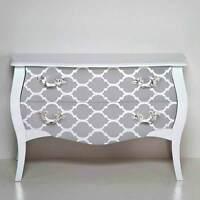 Casablanca Craft Stencil - Medium - Stencils For Furniture, Pillow, And Fabric