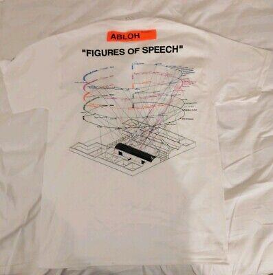 Off-White x Virgil Abloh MCA Chicago - Figures Of Speech T-Shirt Size  Medium NEW | eBay