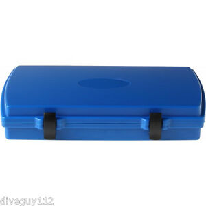 Witz Dry Box Tablet Traveler Storage Case Cover (Fits iPad) Blue