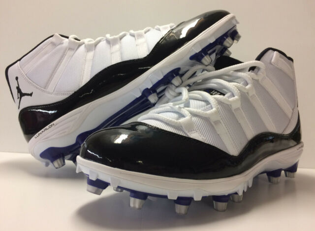 f854b90310f374 Jordan XI 11 Retro TD Football Cleats Concord Deadstock Authentic Men s  Size 12