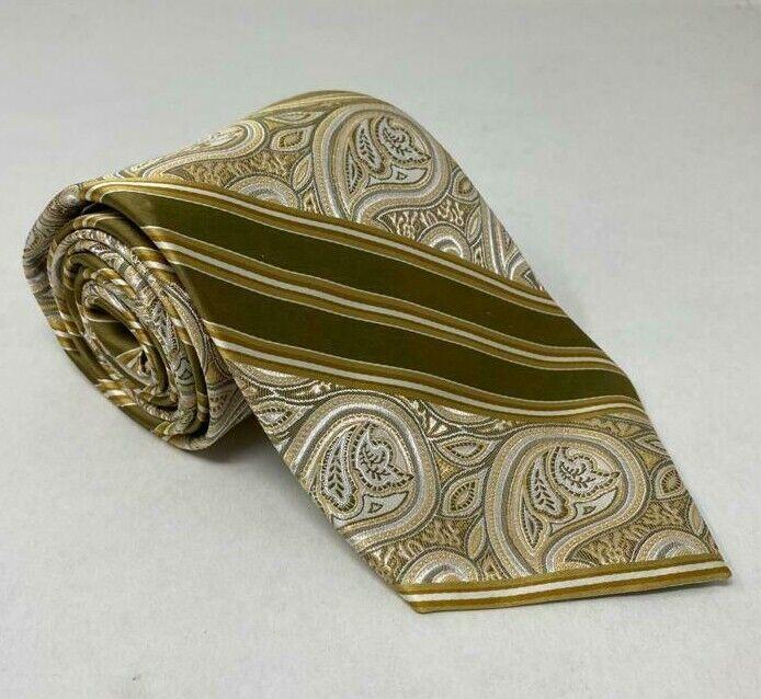 147cm Tie 100% Bachrach Silk Mens Tie